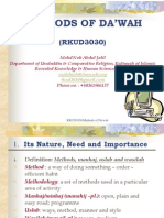 Methods of Dakwah