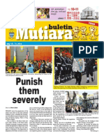 Buletin Mutiara May #2 issue - English, Chinese, Tamil