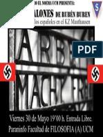 Cartel Mauthausen UCM 2014