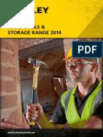 2. Stanley Hand Tools & Storage Range 2014