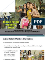 Indian Retail Industry in 2009