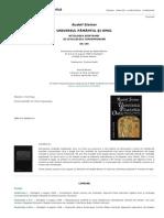 Rudolf Steiner - Universul Pamantul Si Omul. Mitologia Egipte