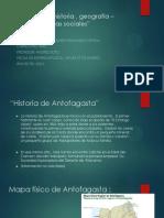 Trabajo de Historia , Geografía – Francisco