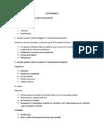 Cuestionario i y IV