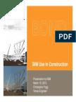 BIM Use in Construction Presentation