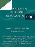 Manajemen Berbasis Sekolah (Mbs) 2