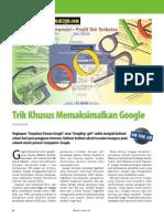 Trik Khusus Memaksimalkan Google
