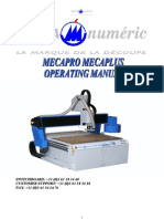 Operating Manual Mecasign Mecapro Mecaplus - Ang - Cn7000