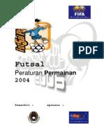 Peraturan Futsal CUP