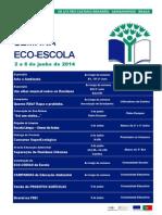 Programa Semana Eco-Escola 2013/2014