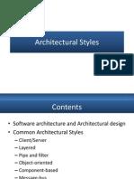 3 Architectural Stylesbjhbbh