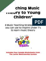 Teaching Music Theory Kids