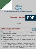 C-DAC Corporate Presentation