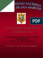 gestion PERFORADORAS PHQ.