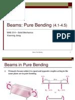 Beam Pure Bending