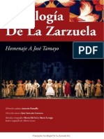 Antologia de La Zarzuela