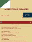 Audit Interne Banque