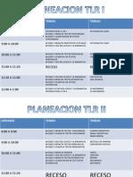 Planeacion Tlr Sabado