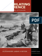 [Alexander Hinton] Annihilating Difference The anthropology of genocide