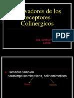 Activadores de Los Receptores Colinergicos 2013