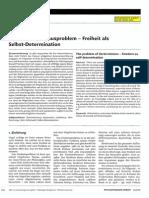 Wandschneider - 2010 d - Das Determinismusproblem