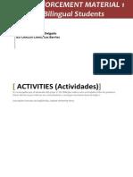 Reinforcemente Material Activities