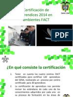 Certificacion de Aprendices - FESTO