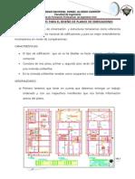 Concideraciones Para El Diseño de Planos de Edificaciones
