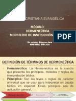 Módulo Hermeneutica Seminario Landmark