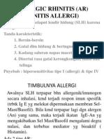 Allergic Rhinitis (Ar)