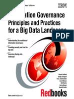 Information Governace Principle and Practices for a Big Data Landscape