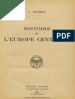Histoire de l'Europe Centrale - J. Aulneau