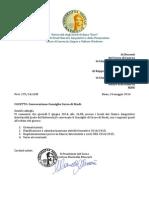 Convocazione CCS 5 Giugno 2014