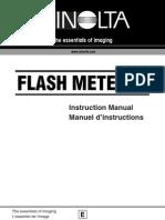 Konica Minolta Flash Meter VI Manual