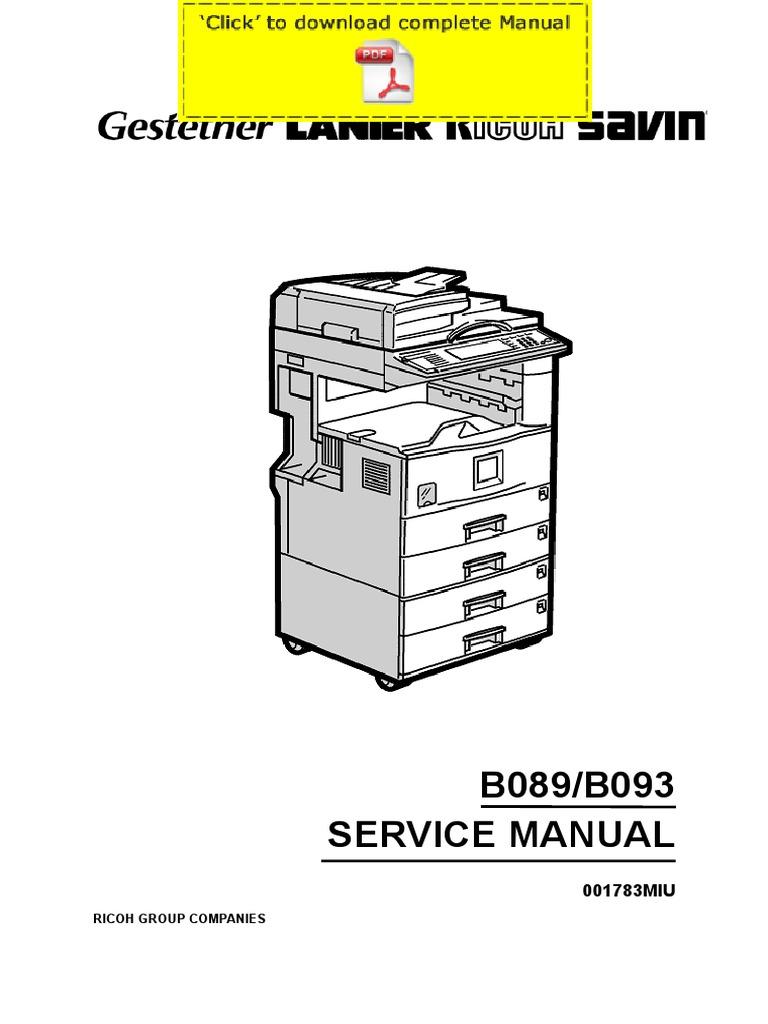 ricoh aficio 2022 aficio 2027 service manual pages rh scribd com ricoh aficio 2022 service manual pdf ricoh aficio 2022 parts manual