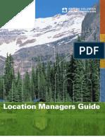 British Columbia Film & TV Location Managers Guide