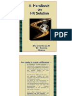 A Handbook on HR Solution