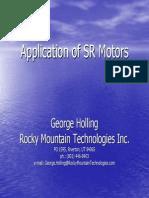 Application of SR Motors