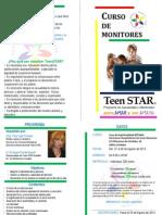 Diptico Curso Teenstar 2014