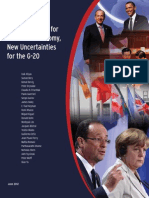 Global Economy New Uncertainties G20