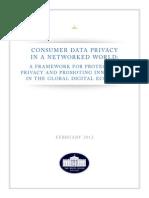 Consumer Privacy Bill of Rights