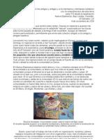 carta número 114 (09-11-2009) del Bajo Lempa/El Salvador