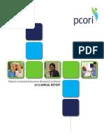PCORI Annual Report 2013