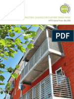 Structural Guidance for Platform Timber Frame