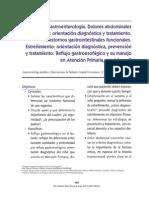 TRASTORNOS FUNCIONALES GASTROINTESTINALES