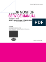 LG Flatron L1953H-SFQ a MQPS Servicemanual