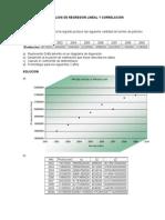 Análisis de Regresión Lineal y Correlación