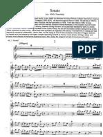 Albrici Sonate