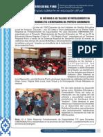 1 Taller de Fortalecimiento de Capacidades en Tic Ciberamauta 2014