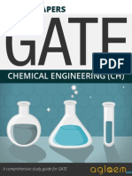 GATE Solved Question Papers for Chemical Engineering [CH] by AglaSem.Com